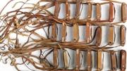 Кожаный ремень- бленда на Советский армейский бинокль, пыльник-дождевик